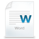application/msword icon
